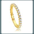 珍特丽 14K 閃閃發亮的戒指 一只