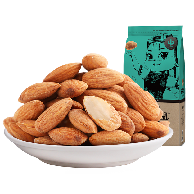 Product Detail - THREE SQUIRRELS--Badam nuts 235g - image 0