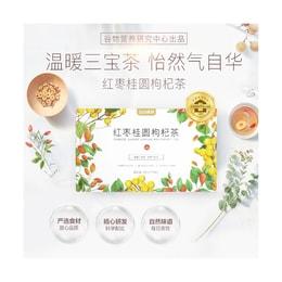 五谷磨房 红枣桂圆枸杞茶 15包入 180g