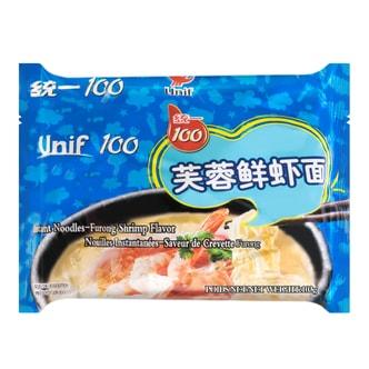 台湾统一 芙蓉鲜虾面 103g