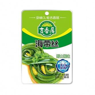 吉香居 即食小菜 海带丝 野山椒味 88g 四川特产