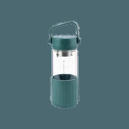 Tea Water Bottle, 350ml, Dark Green, CD1008/A3