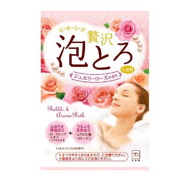 Product Detail - COW Soap Awatoro Bubble & Aroma Jewelry Aroma Bath Salt #Rose - image 0