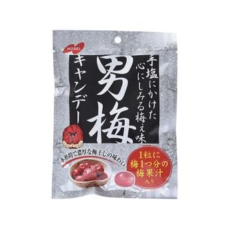 [日本直邮] 日本NOBEL诺贝尔 男梅 梅子糖 80g