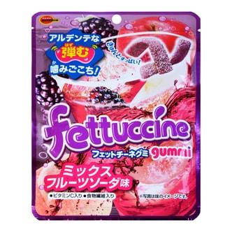 日本BOURBON波路梦 混合水果味软糖 50g