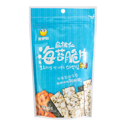 【Clearance】YIFEN Almond Kernel Seaweed Chips 35g