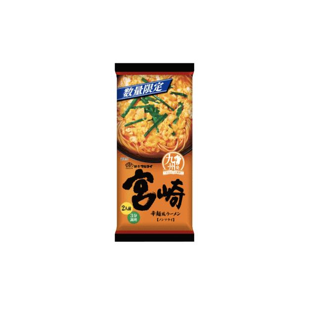 商品详情 - DHL直发【日本直邮】日本MARUTAI 宫崎辛辣拉面 2人份 186g - image  0