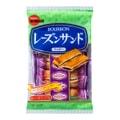日本BOURBON波路梦 葡萄果酱夹心软曲奇 82g