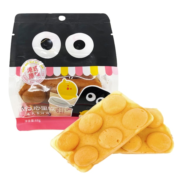 Product Detail - 【Best Before: 2021/01/13】MORANCE Hong Kong Style Waffle 68g - image  0