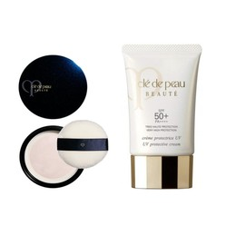 CLE DE PEAU BEAUTE UV Protection Cream SPF 50 PA++++ 50g And CLE DE PEAU BEAUTE Powder 26g