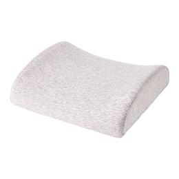 JIWU Memory Foam Lumbar Support Cushion Pink Stripe