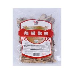 BIG GREEN Organic Dried Dong Quai Root Slice 100g