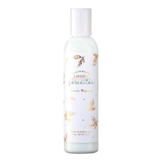 日本FRAGRANCY AMORA 滋润保湿香水身体乳 #清新绿茶 200g