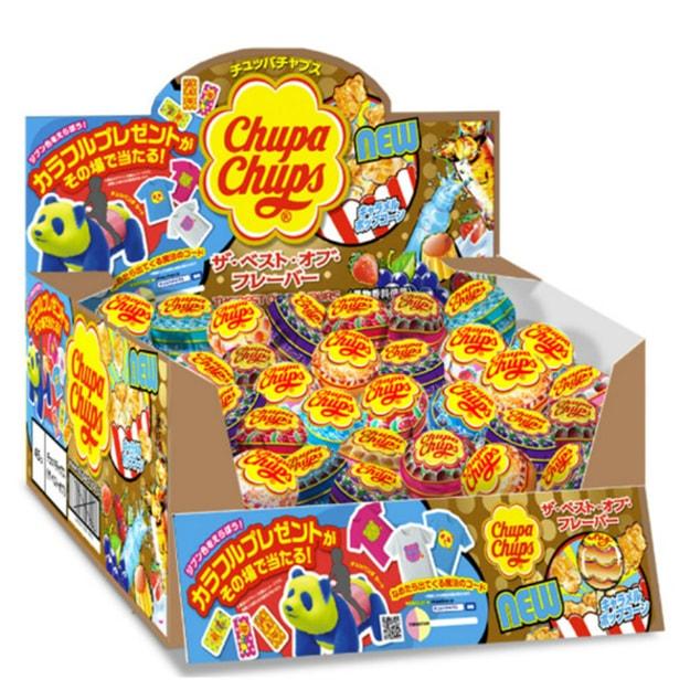 商品详情 - 【日本直邮】DHL直邮3-5天到 日本珍宝珠 CHUPA CHUPA 棒棒糖 5支装 随机口味 - image  0
