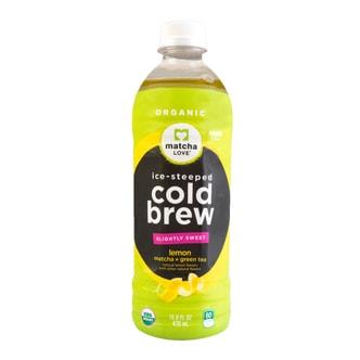 日本ITO EN伊藤园 MATCHA LOVE 无糖柠檬茶 470ml USDA认证