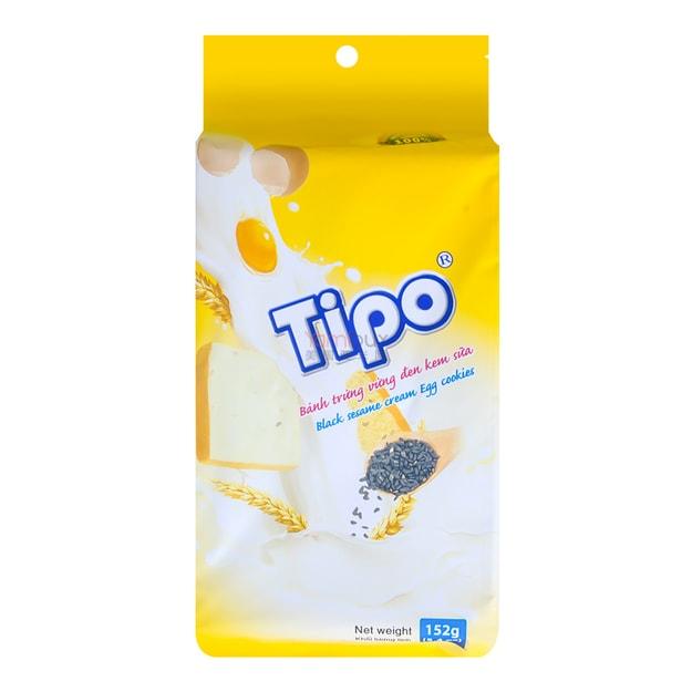 商品详情 - 越南TIPO 白巧克力芝麻面包干 152g - image  0