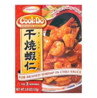 Cook Do Sause Mix Chili Shrimp 90g