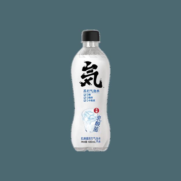 商品详情 - 【独家新品】元气森林 苏打气泡水 乳酸菌味  480ml - image  0