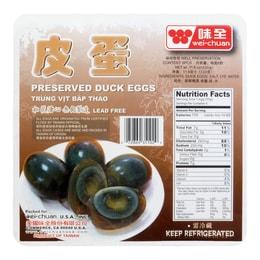 WEI CHUAN Preserved Duck Egg 6pcs 330g
