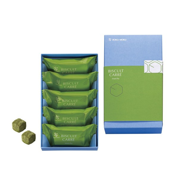 Product Detail - YOKU MOKU Casual Gift Matcha Biscuit Carre 10pc - image  0