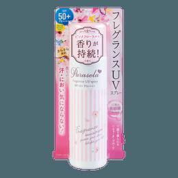 日本NARIS UP 清爽透气防晒喷雾 SPF50+ PA++++ 90g 粉色款
