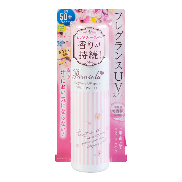 Product Detail - NARIS UP PARASOLA Fragance UV Spray SPF50+ PA++++ 90g - image 0