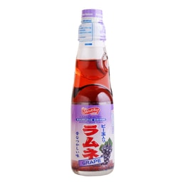 SHIRAKIKU Ramune Soda Grape 200ml