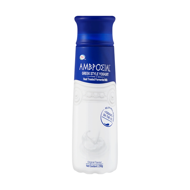 Product Detail - 【Product EXP 12/17/2020】AMBROSIAL High End Drink Series Greek Flavor Yogurt Original 230g - image 0