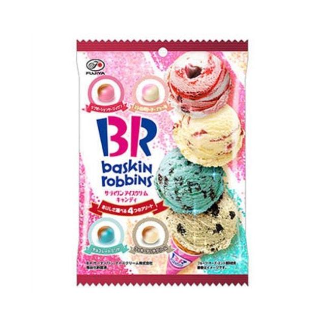 商品详情 - 【日本直邮】DHL直邮3-5天到 日本不二家FUJIYA×BR 联名限定 冰淇淋味 奶糖 80g - image  0