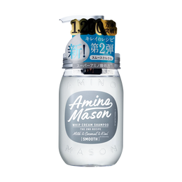 AMINO MASON Whip Cream Shampoo 2nd Recipe Smooth 450ml