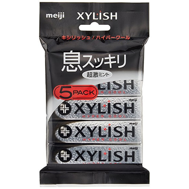 Product Detail - MEIJI  XYLISH Gum Hyper Cool 5pack - image 0
