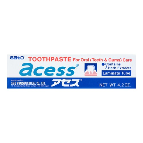 SATO ACESS For Oral(Teeth & Gums)Care Toothpaste 125g