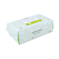 MIANZHIHUAYU Cotton Tissue 100 Sheets
