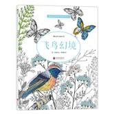 秘密花园涂绘学院丛书:飞鸟幻境