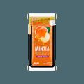 日本ASAHI朝日 薄荷润喉糖 MINTIA大颗粒 水蜜桃口味 30粒