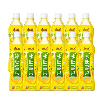 MASTER KONG  Crystal Sugar Pear Drink 500ml Pack of 12