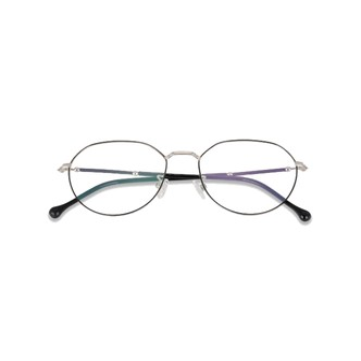DUALENS 防蓝光护目镜 -银色 (DL75003 C2) 镜框 + 镜片