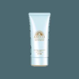 Anessa Moisture UV Sunscreen Mild Gel for Sensitive Skin SPF35 PA+++ 90g