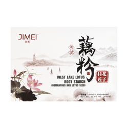 JIMEI West Lake Lotus Root Starch Osmanthus and Lotus Seed 240g