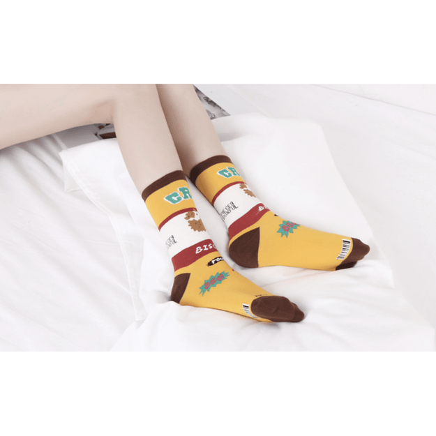 Product Detail - 2021LIFE Cookie Fantasy - Mid Rise Socks - image 0