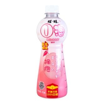 台湾旺旺 O泡果奶味饮料 蜜桃味 450ml