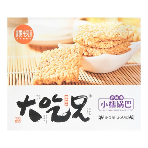 LIRAY DACHIXIONG Glutinous Millet Rice Cracker Spicy 260g