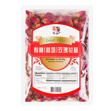 Big Green Organic  Dried Rose 60g