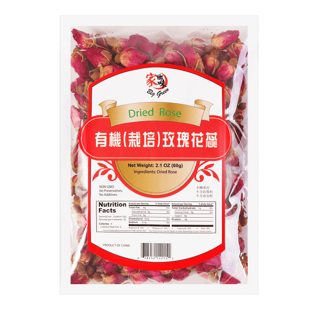 Product Detail - Big Green Organic  Dried Rose 60g - image 0