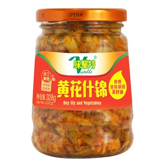 WEIJUTE Pickled Mixed Vegetable 328g