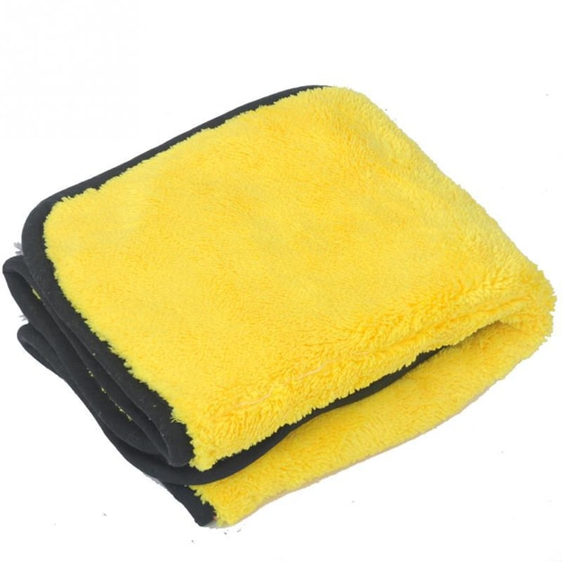 Product Detail - LORDUPHOLD Car Cleaning Cloth Thick Plush Microfiber Wash Towel Cloth Durable Wax Polishing Detailing Towel 30*60cm 1 pc - image 0