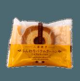 [日本直邮] TAIYO FOODS 太阳食品 双层烘焙蓬松年轮蛋糕 牛奶焦糖口味 1个