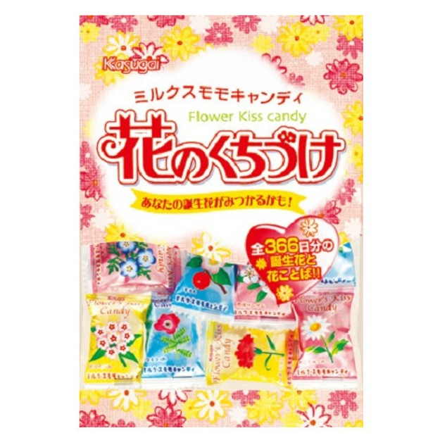 Product Detail - KASUGAI Flower\'s Kiss Candy 135g - image 0