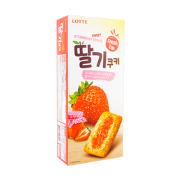 LOTTE Strawberry Jam Cookie 230g
