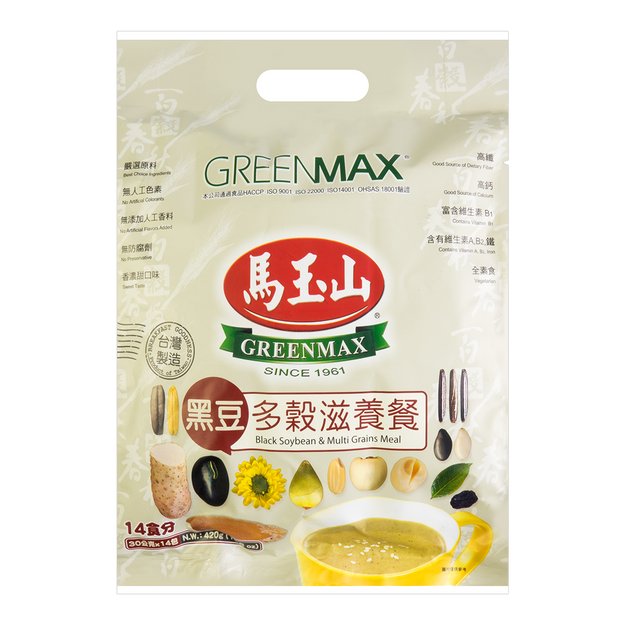 Product Detail - GREENMAX Black Soybean &Multi Grain 420g - image 0